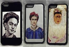 Frida Collection Rubber Case. For Apple Iphone 4, 4S, 5, 5S,5C,SE, 6, 6S 6Plus