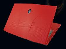 Laptop Leather Carbon Skin Cover For Alienware ANW17X M17X R3 R4(2012-2013)