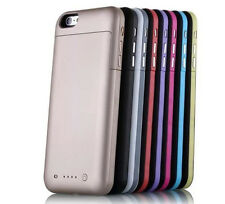 6800mAh For iPhone6 6s Plus External Battery Backup Charging Case Cover 5.5 plus