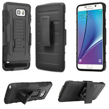 Shockproof Rugged Hybrid Armor Case Cover With Stand Holster Belt Clip For Phone