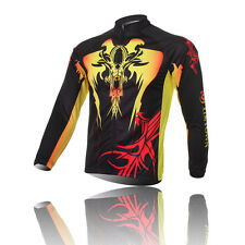 Long Sleeve Archenemy Cycling Clothing Jerseys Men's Bicycle Jerseys Jackets Top