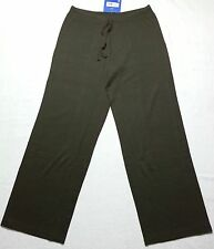 *NWT$75 PATAGONIA WOMEN'S BRUSHED VITALITI PANTS Organic Cotton Stretchy Brown M