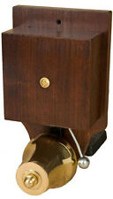 Wired Door Bell Striker Buzzer Wood Brass Doorbell Vintage Retro — 8 & 240VAC