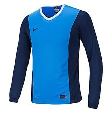 NIKE Dri Fit Soccer Jersey Park Derby L/S AUTHENTIC Football Sports Sky Shirt