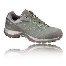 Salomon Ellipse LTR Womens Green Outdoors Trail Walking Hiking Shoes Trainers