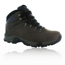 Hi-Tec Ottawa II Womens Black Brown Waterproof Trail Walking Hiking Boots Shoes