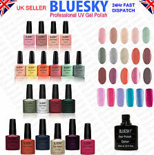 Bluesky Soak Off UV LED Nail Gel Polish 10ml - New Colours --  80562 to 80612