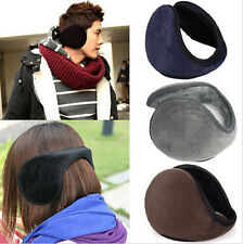 Women Men Soft Fleece Earmuff Winter Ear Muff Wrap Band Warmer Grip Earlap Gift