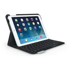 Logitech Ultrathin Keyboard Folio for iPad Air, Carbon Black, Red