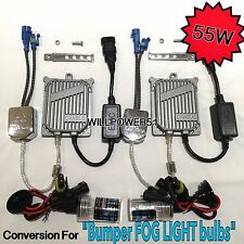 55W 9145 H10  CANBUS C2 HID Xenon FOG LIGHTS 04-10 FOR GRAND CHEROKEE 8000K