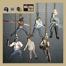 AMC THE WALKING DEAD (CHOICE OF 2 FIGURES) CEILING FAN PULLS - RICK, DARYL, ETC.