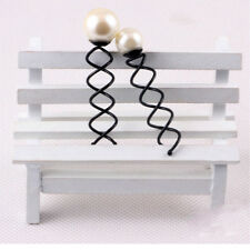 10Pcs Nice Bride Hair Fashion Hair Pin Spiral hairpin Black Metal Twist