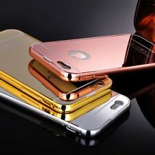 Luxury Aluminum Ultra-thin Mirror Metal Case Cover for Apple iPhone 6 6s /6 Plus