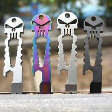 Skull Tactical EDC Multifunction Survival Tool Key Chain Bottle Opener