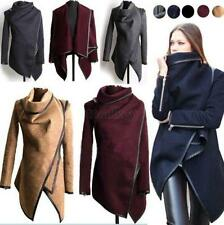 Winter Lady Slim WOOL Warm Long Coat Jacket Trench Windbreaker Parka Outwear T79