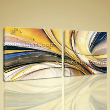 Large Modern Abstract HD Print On Canvas Picture Framed Ready To Hang Wall Art