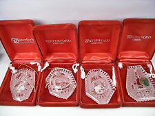 Waterford Crystal Christmas Annual Ornament  **Your Choice**