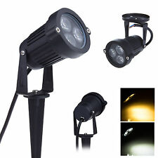 9W Waterproof Outdoor Pathway Wall Yard Landscape LED Flood Spot Light Lamps CA