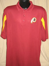 NFL Washington Redskins Field Classic Polo Shirt Mens Sizes Nwt Golf Sythetic