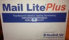 MAIL LITE PLUS OYSTER BUBBLE PADDED ENVELOPE POSTAL BAG ALL SIZE WHITE STRONG HQ