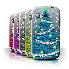 STUFF4 Back Case/Cover/Skin for Samsung Galaxy Pocket/S5300/Christmas Tree
