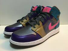 Nike Air Jordan 1 Mid GG Women's/Girls Hi-Top Trainers/Basketball Shoes UK 6