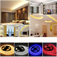 Flexible 5M 300-SMD LEDs 5630 5050 LED Strip Lights Super Bright (Non)Waterproof