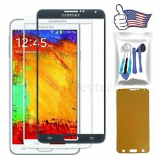 Front Screen Lens Glass Replacement for Samsung Galaxy Note 3 Black/White Tools