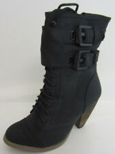 Ladies Coco Fashion Ankle Boot Black L8617 (Rack 5A)