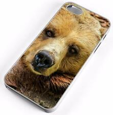 Brown Bear Case Fits Apple iPhones Any Carrier