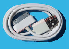 USB Data Sync Charger Cable Cord for iPhone4 4G 4S 3 3GS iPad iPod iPhone 30pin