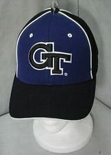 Zephyr Georgia Tech Yellow Jackets Buzz Black/Blue  Baseball Cap Size 6 7/8, 7