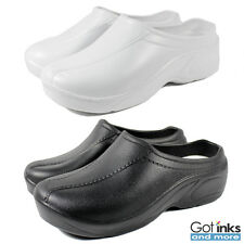 Women's Medical Nursing Ultralite Slip Resistant Strapless Clogs Light Shoes NEW