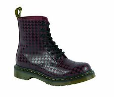 Original Classic Doc Dr Martens 8-hole 1460 Pina Black + Cherry 15842010