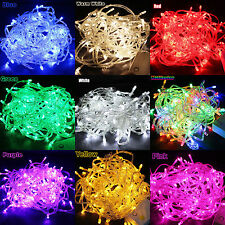 10M Waterproof 100LED String Wedding Party Fairy Christmas Tree Decoration Light