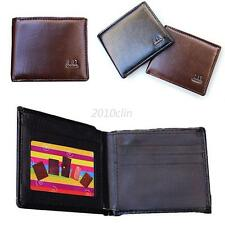 Men Leather Wallet Pocket Coin Card Money Holder Case Clutch Bifold Purse C17