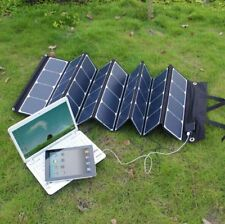 Outdoor Folding sunpower 120W solar panel solar charger for laptop, mobile phone