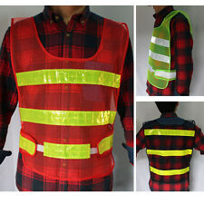 Security High Visibility Reflective Safety Vest Construction Traffic/Warehouse