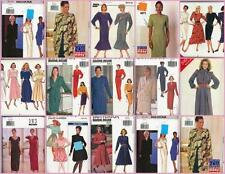 OOP Butterick Sewing Pattern Misses Dresses  Size 12 14 16 You Pick