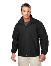 Tri Mountain 2100 Men's Meridian Jacket Windproof WR Hooded Black 2XL