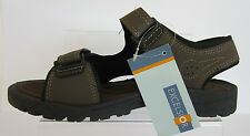 Excelsior MEXCL888106B Dk Brown Mens Sandals RipTape Fastening Sizes 40 x 46 R2A