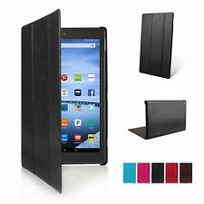 Ultra Slim Smart Leather Case Cover Stand for Amazon Kindle Fire HD 7 8 10 2015