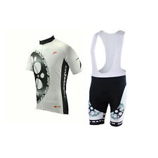 New Men Gear Bike Outdoor Ropa Bicycle Sportswear Suit Cycling Jersey Bib Shorts