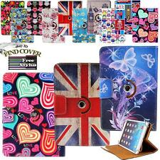 Rotating Stand Wallet Leather Case Cover For Various LG G / Optimus Pad Tablets