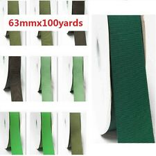 "Grosgrain Ribbon 2.5"" / 63mm Wide Wholesale 100 Yards, Discount, Lime to Green"