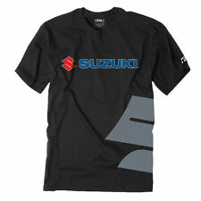 Factory Effex Suzuki Big S Crewneck Short Sleeve Mens T-Shirts RMZ GSXR