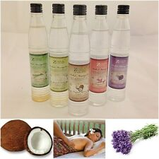 COCONUT JASMINE LAVENDER SCENT BODY MASSAGE OIL HOME SPA AROMATHERAPY 100ml