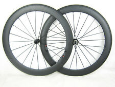 Only 1620/1460g Carbon Road Bike Wheelset 700C 60mm Clincher TubularCarbonWheels