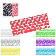 "US Keyboard Silicone Skin Cover film For APPLE MacBook Mac Pro AIR 13"" 15"" 17"""