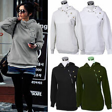Womens Casual Zip Up Long Sleeve Hoodie Hooded Tracksuit Jumper Top Outwear Coat